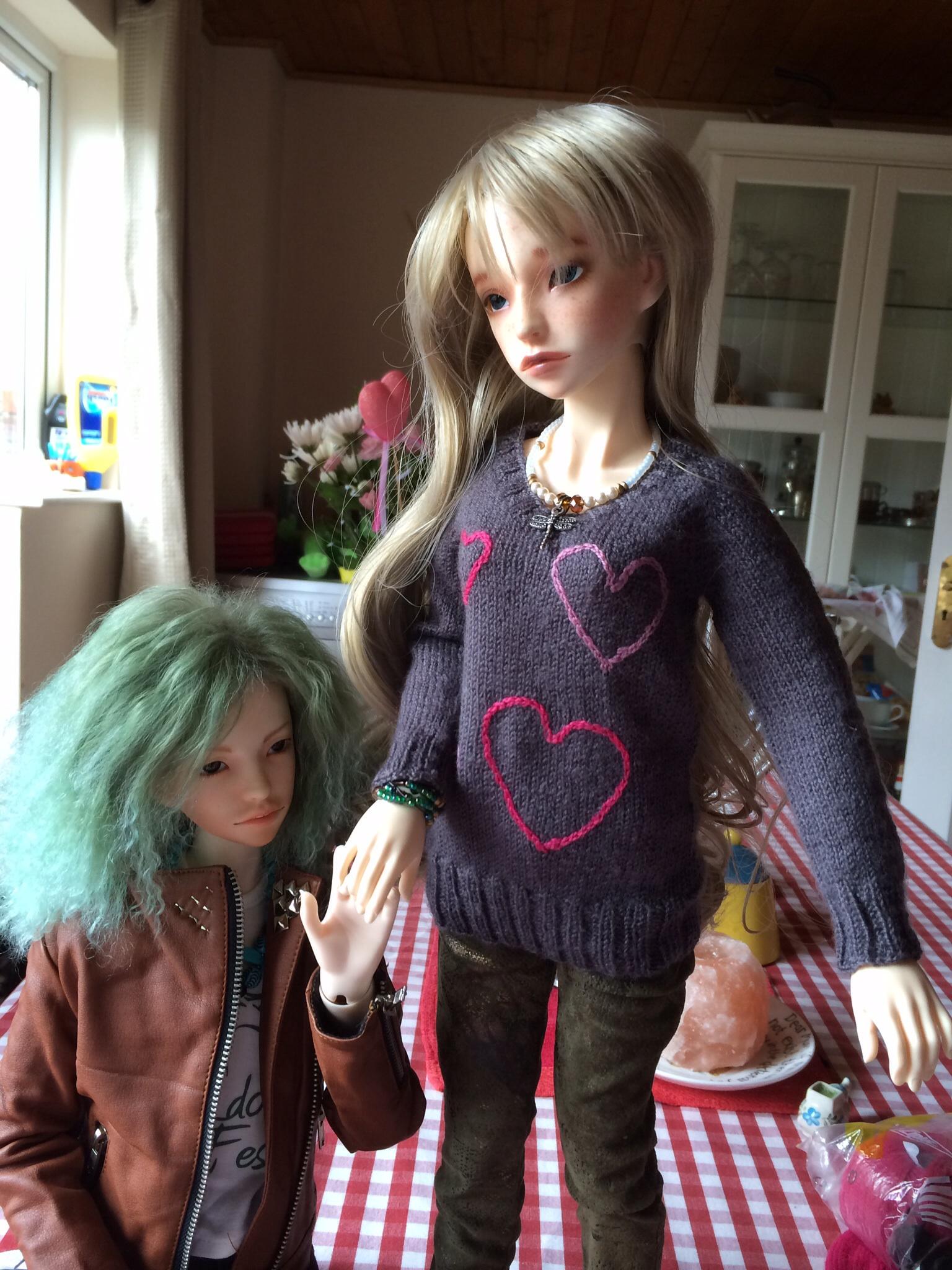 Knitting Tunic Type of Sweater