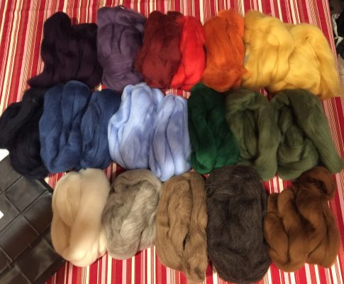 Spinning Shetland Wool